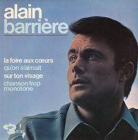Cover Alain Barrière - La foire aux cœurs