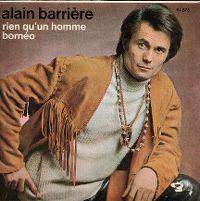 Cover Alain Barrière - Rien qu'un homme