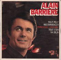 Cover Alain Barrière - Tout s'en va déjà