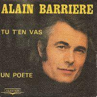 Cover Alain Barrière - Tu t'en vas