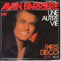 Cover Alain Barrière - Une autre vie