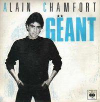 Cover Alain Chamfort - Géant