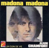 Cover Alain Chamfort - Madona Madona