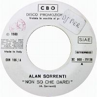 Cover Alan Sorrenti - Non so che darei