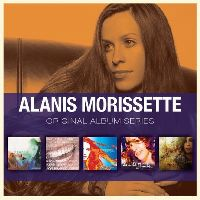 Cover Alanis Morissette - Original Album Series
