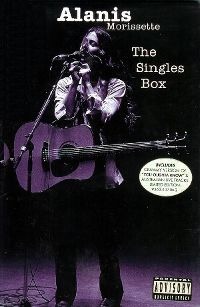 Cover Alanis Morissette - The Singles Box