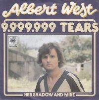 Cover Albert West - 9,999,999 Tears