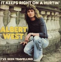 Cover Albert West - It Keeps Right On A Hurtin'