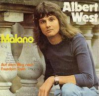 Cover Albert West - Malano