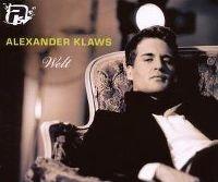 Cover Alexander Klaws - Welt