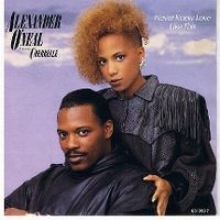Cover Alexander O'Neal feat. Cherrelle - Never Knew Love Like This