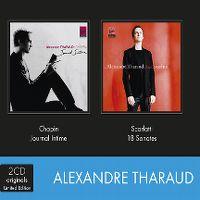 Cover Alexandre Tharaud - Chopin: Journal intime + D. Scarlatti: Sonatas