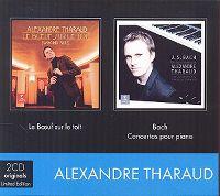 Cover Alexandre Tharaud - Le bœuf sur le toit / Bach: Concertos pour piano