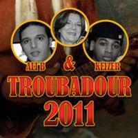 Cover Ali B & Keizer - Troubadour 2011