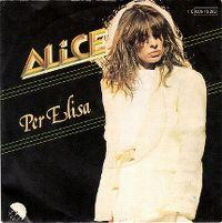 Cover Alice - Per Elisa