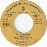 Cover Alice Cooper - Hello Hurray