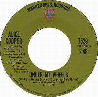 Cover Alice Cooper - Under My Wheels