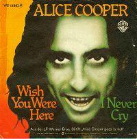 Cover Alice Cooper - Wish You Were Here