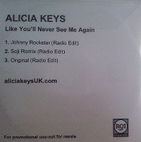Cover Alicia Keys - Like You'll Never See Me Again