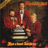 Cover Alpentrio Tirol - Hast a bisserl Zeit für mi