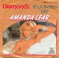 Cover Amanda Lear - Diamonds