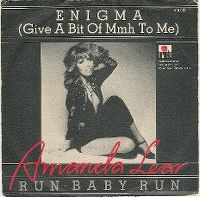 Cover Amanda Lear - Enigma (Give A Bit Of Mmh To Me)