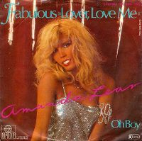 Cover Amanda Lear - Fabulous Lover, Love Me