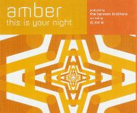 Cover Amber - This Is Your Night