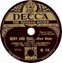 Cover Ambrose & His Orchestra - Body And Soul