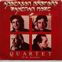 Cover Anderson / Bruford / Wakeman / Howe - Quartet