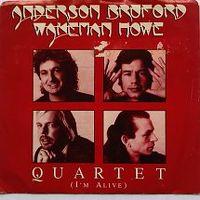 Cover Anderson / Bruford / Wakeman / Howe - Quartet