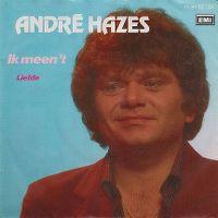 Cover André Hazes - Ik meen 't