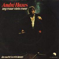 Cover André Hazes - Zeg maar niets meer