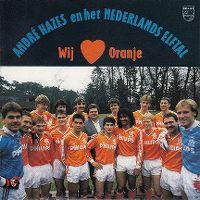 Cover André Hazes en het Nederlands elftal - Wij ❤ Oranje