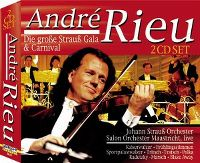 Cover André Rieu - Die große Strauß Gala & Carnival