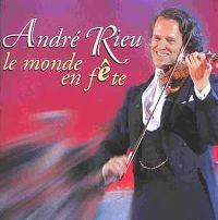Cover André Rieu - Le monde en fête