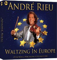 Cover André Rieu - Waltzing In Europe