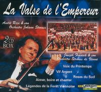 Cover André Rieu & son Orchestre Johann Strauss / Joseph Francek & son Orchestre Strauss de Vienne - Kaiserwalzer