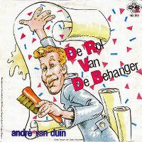 Cover André van Duin - De rol van de behanger