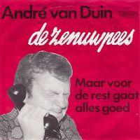 Cover André van Duin - De zenuwpees