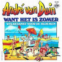 Cover André van Duin - Want het is zomer