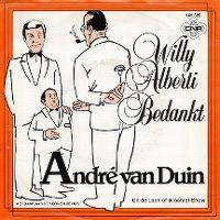 Cover André van Duin - Willy Alberti bedankt