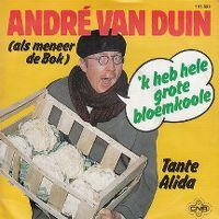 Cover André van Duin (als meneer de Bok) - 'k Heb hele grote bloemkoole