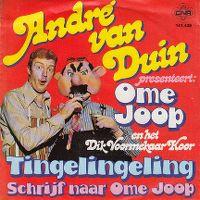 Cover André van Duin presenteert: Ome Joop en het Dik Voormekaar koor - Tingelingeling