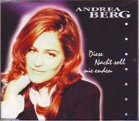 Cover Andrea Berg - Diese Nacht soll nie enden