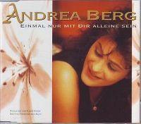 Cover Andrea Berg - Einmal nur mit dir alleine sein