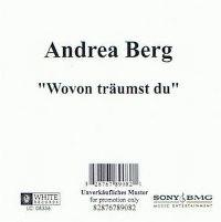Cover Andrea Berg - Wovon träumst Du