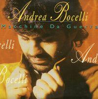 Cover Andrea Bocelli - Macchine da guerra