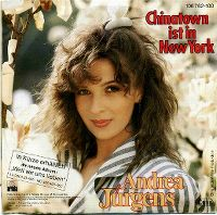 Cover Andrea Jürgens - Chinatown ist in New York