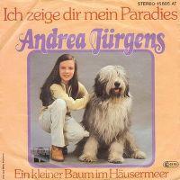 Cover Andrea Jürgens - Ich zeige dir mein Paradies